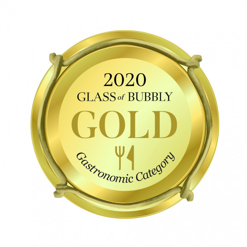 'Gold Gastronomic' for 2018 Camel Valley Pinot Noir Rosé Brut at the Glass of Bubbly Awards