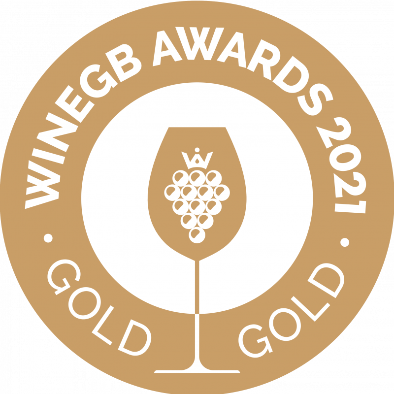 Gold for 2020 Camel Valley Bacchus at the WineGB awards